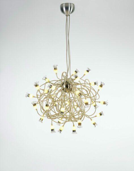 Serien Lighting Pendelleuchte Poppy Suspension Beige - Lampen & Leuchten