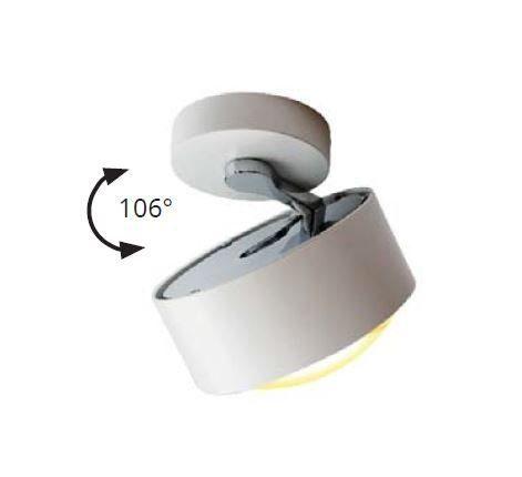 Top Light Deckenleuchte Puk Maxx Move LED Weiß