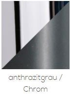 Top Light Deckenleuchte Puk Maxx One 2 LED Anthrazit/Chrom