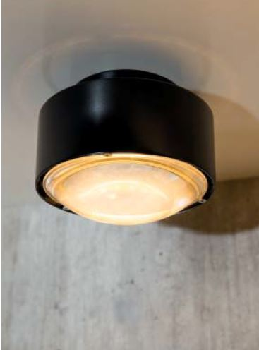 Top Light Deckenleuchte Puk Maxx Plus LED Schwarz