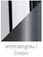Top Light Deckenleuchte Puk Maxx Turn LED Anthrazit/Chrom