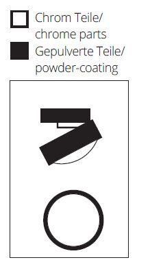 Top Light Deckenleuchte Puk Move LED Detail