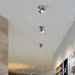 Top Light Deckenleuchte Puk Move LED Chrom