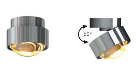 Top Light Deckenleuchte Puk Move LED Chrom Detail
