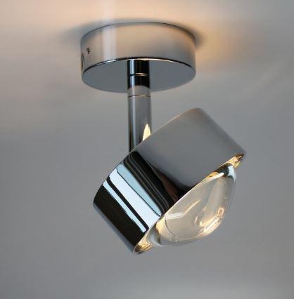 Top Light Deckenleuchte Puk Turn LED Chrom