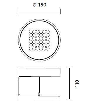 Nimbus Deckenleuchte RIM R 36 - Open Box