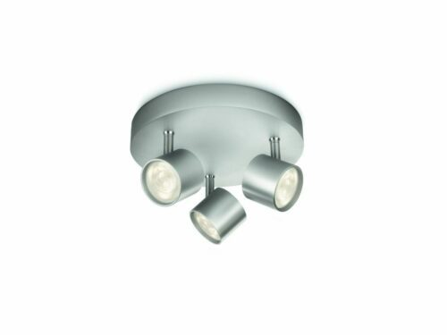 Philips Deckenleuchte Star 3-flammig Aluminium Spot rund LED - Sale