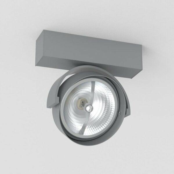 Deltalight Deckenleuchte Rand 111 Grau