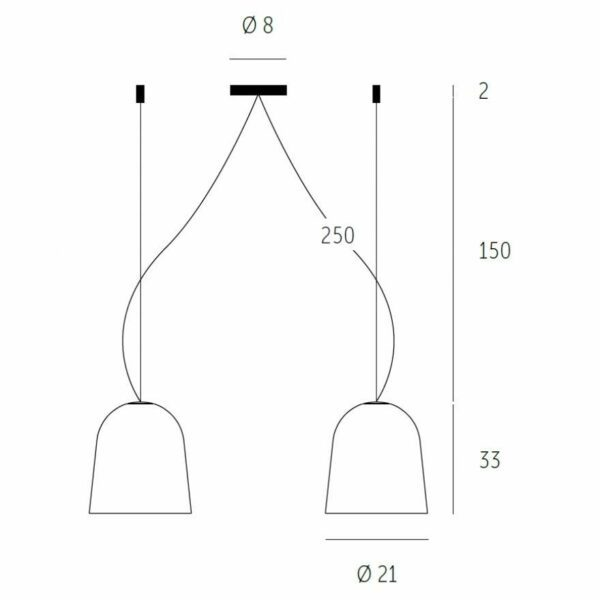 Casablanca Doppelpendelleuchte Clavio M Anthrazit - Lampen & Leuchten