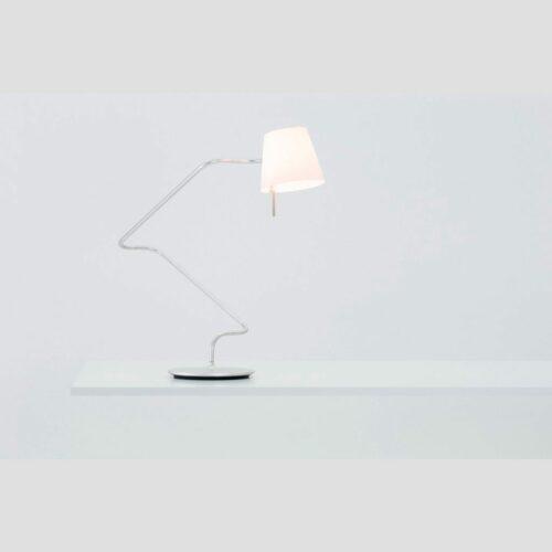 Serien Lighting Tischleuchte Elane Silber - Lampen & Leuchten