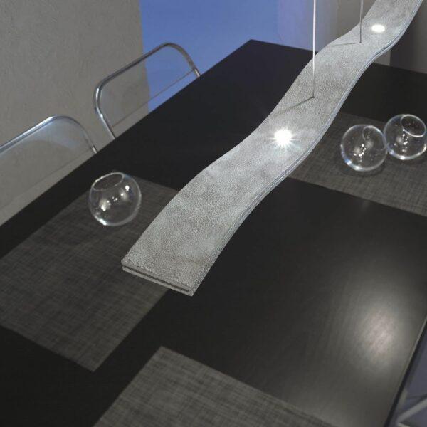 Escale Pendelleuchte Fluid LED Betonoptik