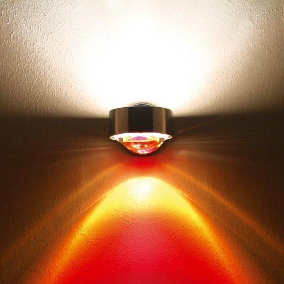 Top Light Farbfilter für Leuchte Puk, Lens und Light Finger Rot
