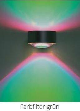 Top Light Farbfilter für Leuchte Puk Maxx Lens und Light Finger Grün