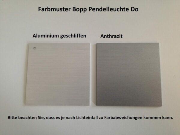 Farbmuster zu Bopp Pendelleuchte Do LED