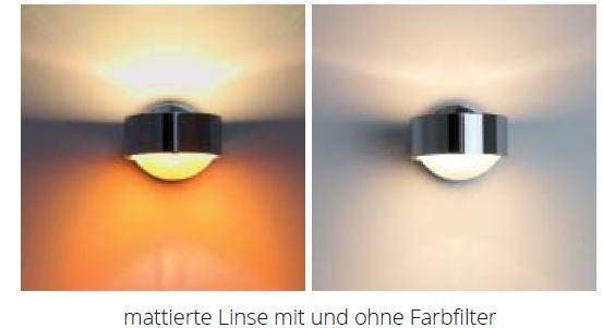 Top Light Glas beidseitig mattiert-für-Leuchte Puk Maxx und Lens