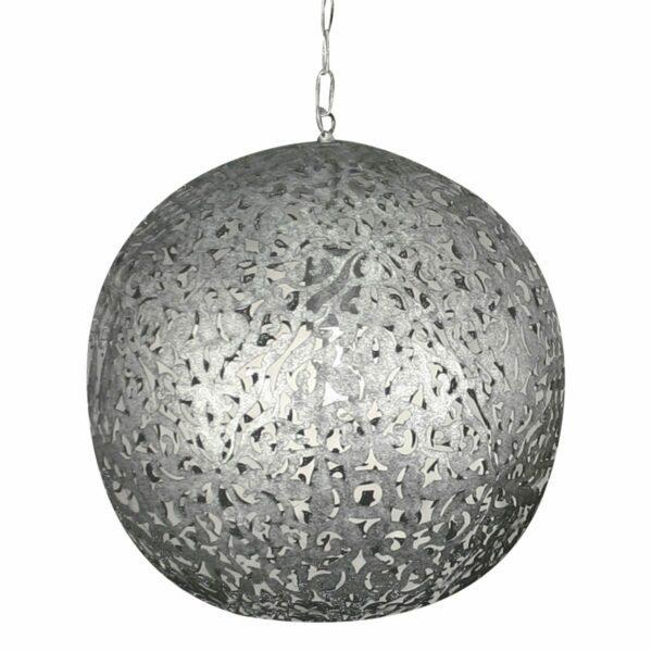 By Rydéns Hängeleuchte Flowerball Silber