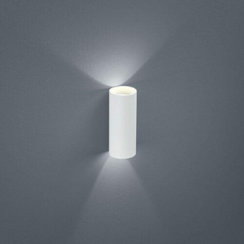 Helestra Wandaußenleuchte Swift LED Weiß