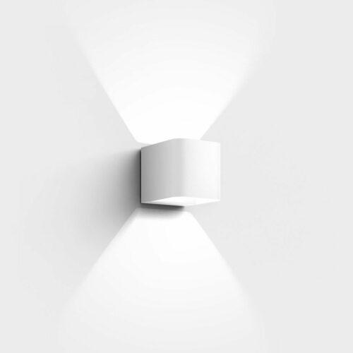 IP44.de Wandaußenleuchte Intro Pure White