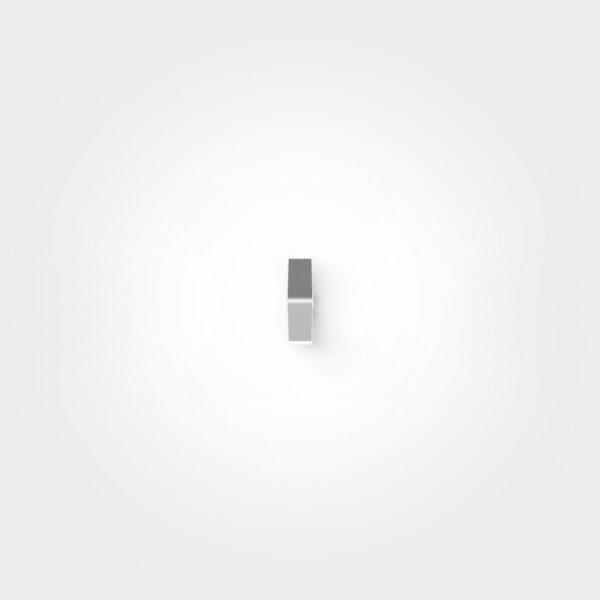 IP44.de Wandaußenleuchte Yo Pure White Frontansicht