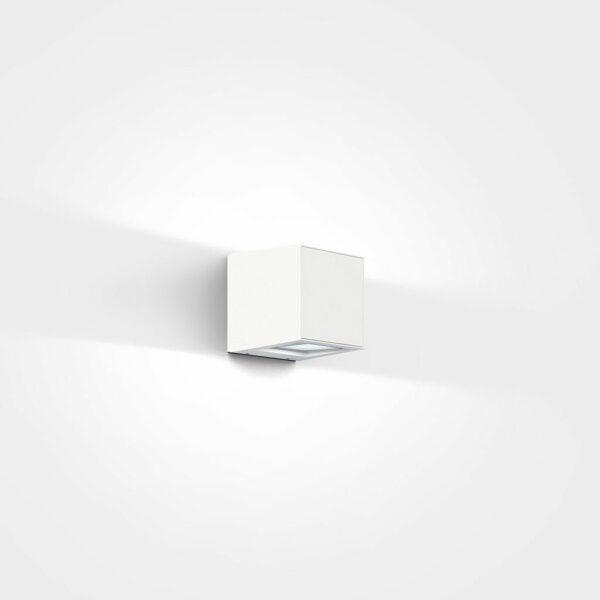 IP44.de Wandaußenleuchte Gap Q Pure White