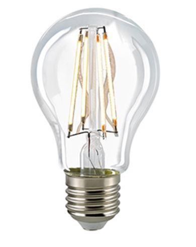 Sigor Leuchtmittel LED 12 W, Filament Klar, E27, 2700 K, dimmbar - Lampen & Leuchten