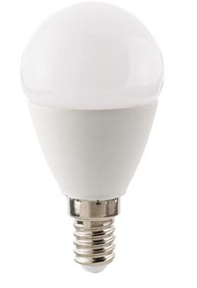 Sigor Leuchtmittel LED 3,5 W, E14, Kugel Opal / ersetzt 25 W - Lampen & Leuchten