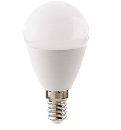Sigor Leuchtmittel LED 6 W, E14, Kugel Opal, dimmbar / ersetzt 40 W - Lampen & Leuchten