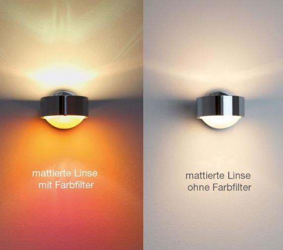 Top Light Linse einseitig mattiert für Leuchte Puk Lens und Light Finger