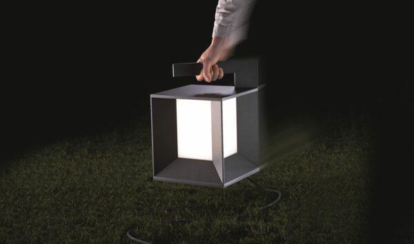 Lupia Licht Bodenaußenleuchte Mineur