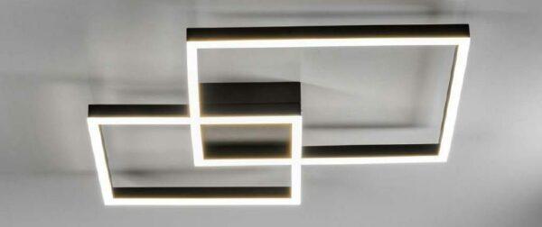 Lupia Licht Deckenleuchte Dopio Schwarz
