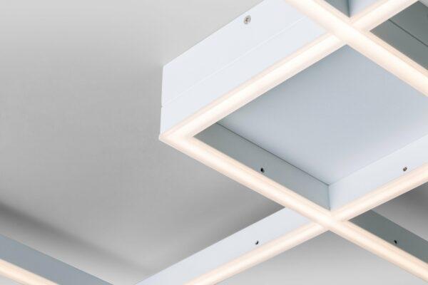 Lupia Licht Deckenleuchte Dopio Weiß Detail