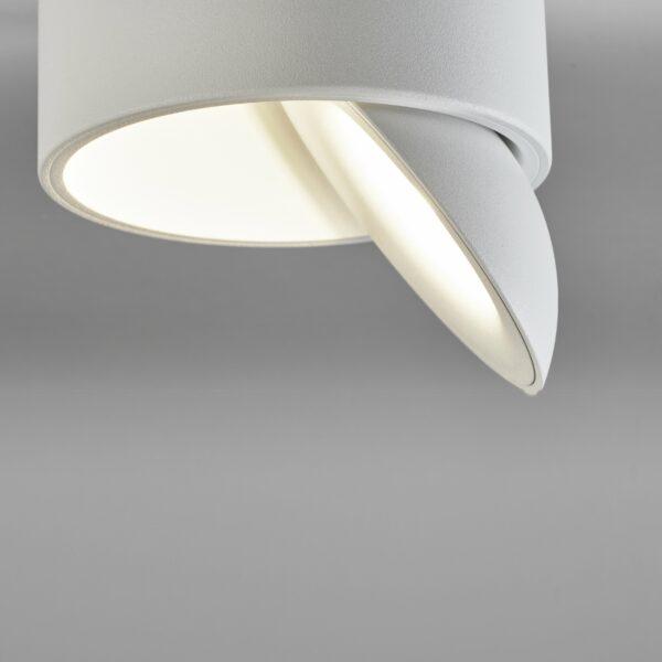 Lupia Licht Deckenleuchte Saturn Weiß, Innenreflektor Weiß