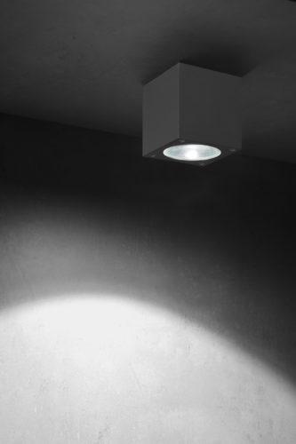 Lupia Licht Deckenstrahler Kubus LED Anthrazit
