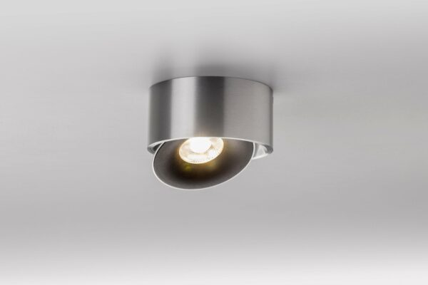 Lupia Licht Deckenstrahler Saturn Aluminium matt