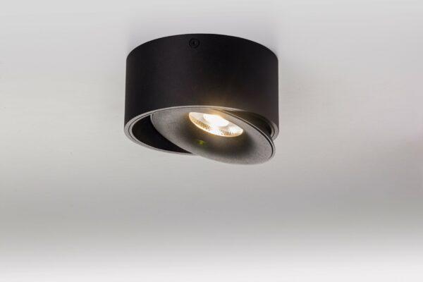 Lupia Licht Deckenstrahler Saturn Nickel Schwarz
