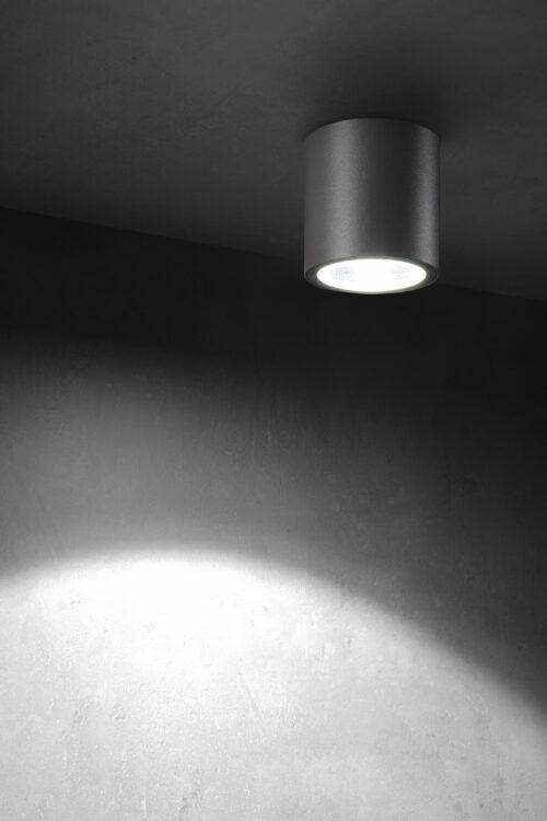 Lupia Licht Deckenstrahler Tubus Anthrazit
