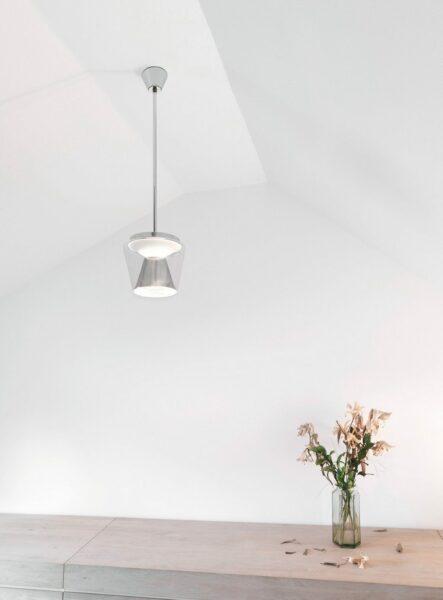Serien Lighting Pendelleuchte Annex LED Suspension Aluminium - Lampen & Leuchten
