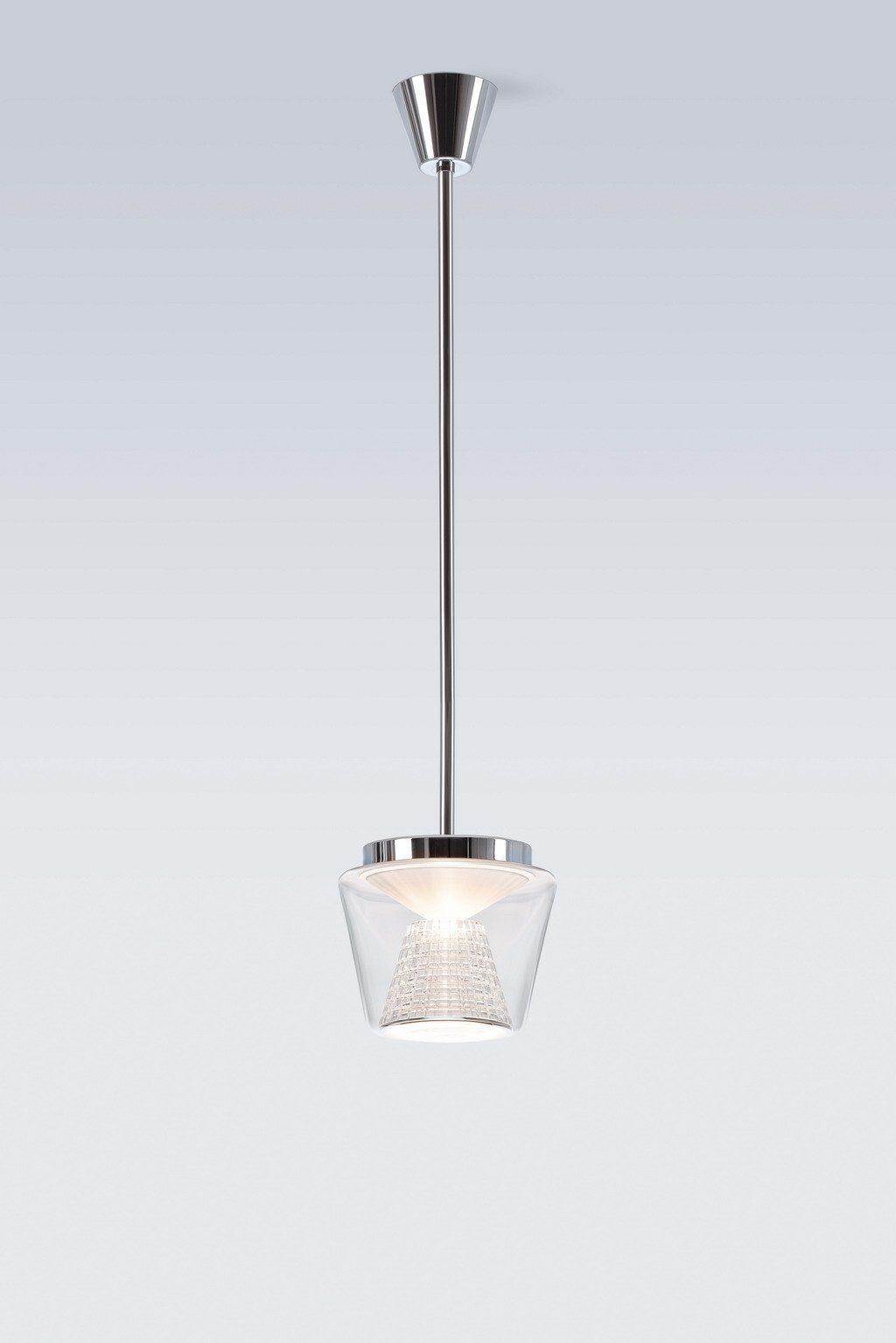 Serien Lighting Pendelleuchte Annex LED Suspension Kristallglas - Pendelleuchten Innen