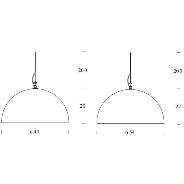 FontanaArte Pendelleuchte Cupola - Lampen & Leuchten