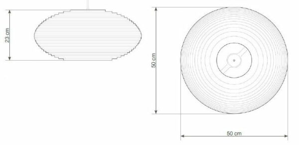 Graypants Pendelleuchte Disc20 - Lampen & Leuchten