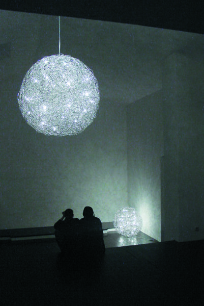 Catellani & Smith Pendelleuchte Fil de Fer LED 50 cm - Pendelleuchten Innen