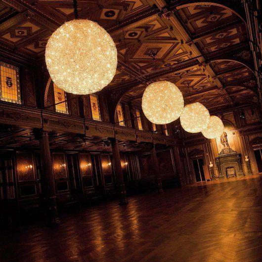 Catellani & Smith Pendelleuchte Fil de Fer LED 50 cm - Lampen & Leuchten