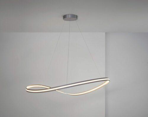 Escale Pendelleuchte Infinity Aluminium dimmbar - Lampen & Leuchten
