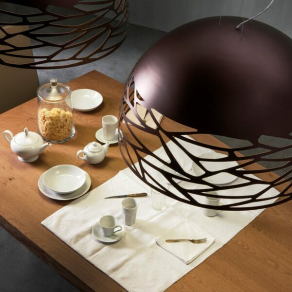 Lodes / Studio Italia Design Pendelleuchte Kelly Dome Large - Lampen & Leuchten