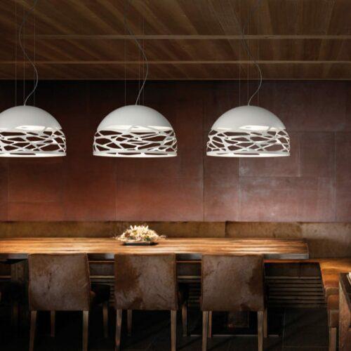 Studio Italia Design Pendelleuchte Kelly Dome Small - Pendelleuchten Innen