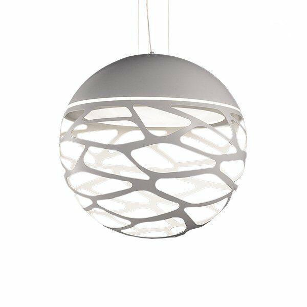 Studio Italia Design Pendelleuchte Kelly Sphere Weiß matt