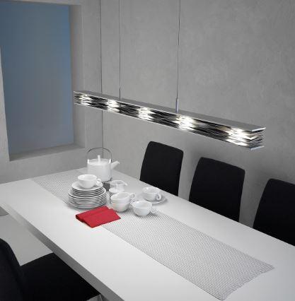 Escale Pendelleuchte Mille Feuilles LED dimmbar - Esszimmer-Leuchten