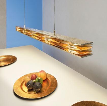 Escale Pendelleuchte Mille Feuilles LED dimmbar - Lampen & Leuchten