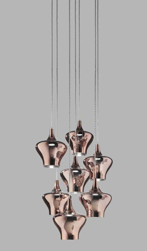 Studio Italia Design Pendelleuchte Nostalgia Medium - Pendelleuchten Innen