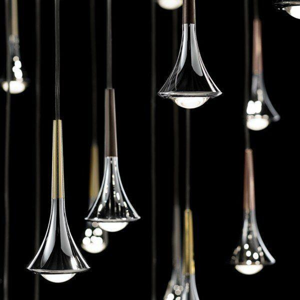Lodes Pendelleuchte Rain 1-flammig - Esszimmer-Leuchten